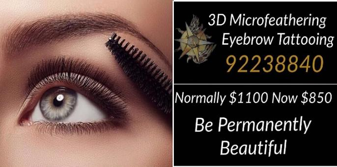 Microblading Feather touch 3D Eyebrows at L'Etoile Elite Sydney CBD - New Deal